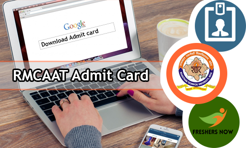 RMCAAT Admit Card