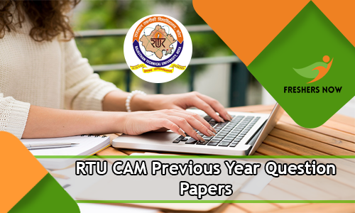 RTU CAM Previous Year Question Papers