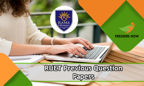 RUET Previous Question Papers