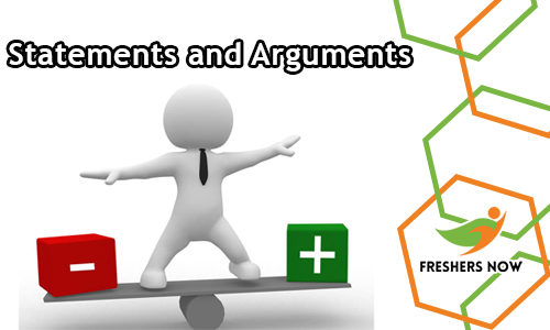Statements and Arguments