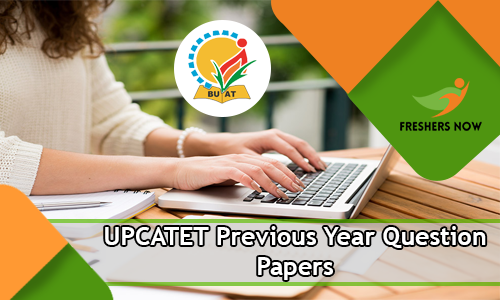 UPCATET Previous Year Question Papers PDF Download Model