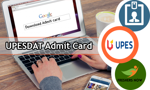 UPESDAT Admit Card