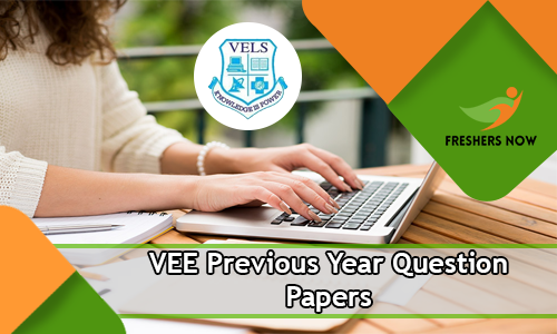 VEE Previous Year Question Papers