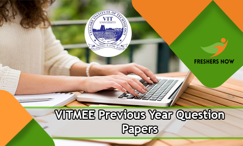 VITMEE Previous Year Question Papers