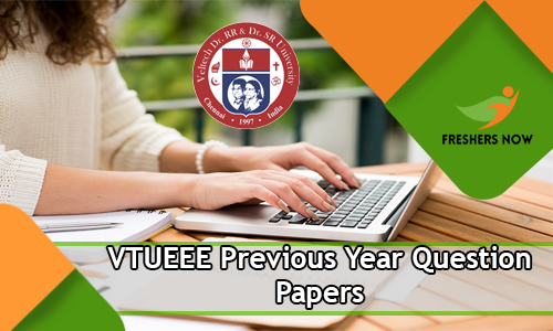 VTUEEE Previous Year Question Papers