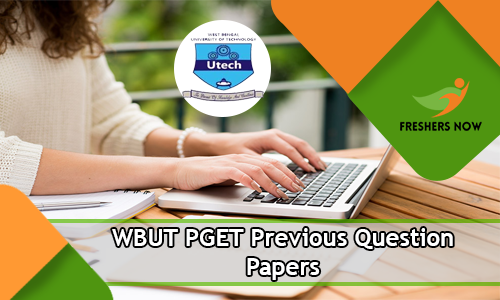 WBUT PGET Previous Question Papers