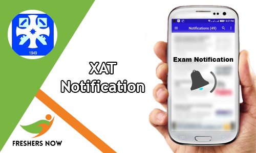 XAT Notification