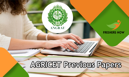 AGRICET Previous Year Question Papers
