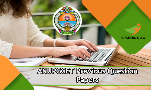 ANUPGCET Previous Question Papers