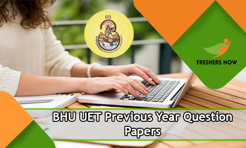 BHU UET Previous Year Question Papers