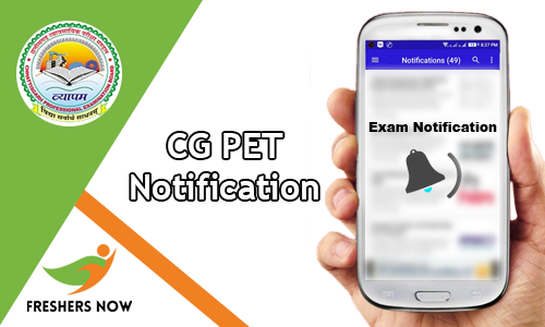 CG PET Notification