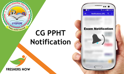 CG PPHT Notification