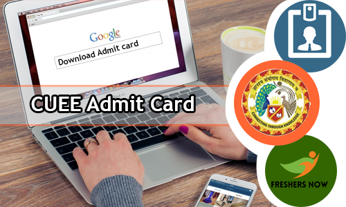 CUEE Admit Card