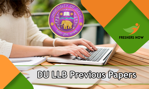 DU LLB Previous Year Question Papers