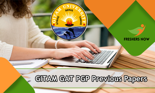 GITAM GAT PGP Previous Question Papers