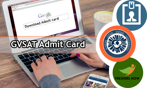 GVSAT Admit Card