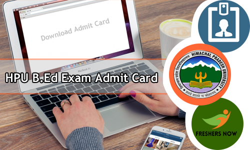 HPU B.Ed Exam Admit Card