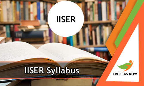 iiser syllabus 2019 pdf download indian institute of science exam
