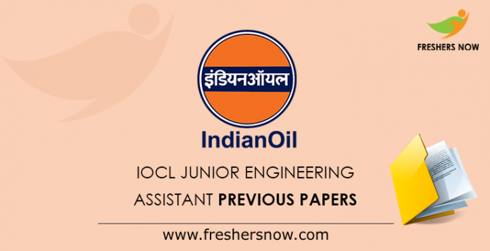 IOCL Gujarat Junior Engineering Assistant Previous Papers