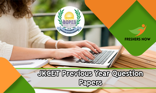 JKCET Previous Year Question Papers