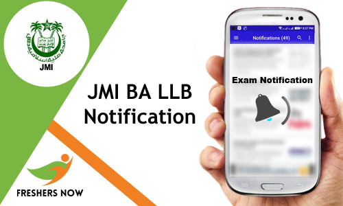 JMI BA LLB Notification