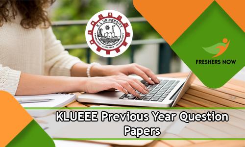 KLUEEE Previous Year Question Papers