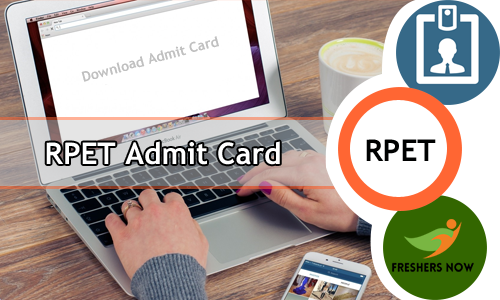 RPET Pharmacy Admit Card
