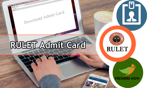 RULET Admit Card