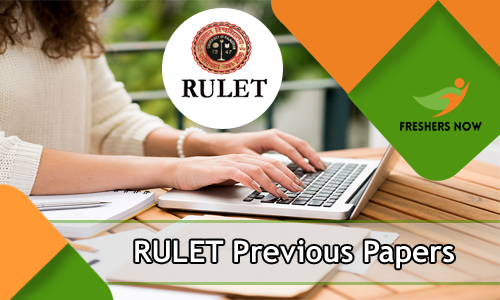 RULET Previous Papers