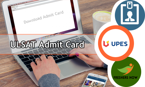 ULSAT Admit Card