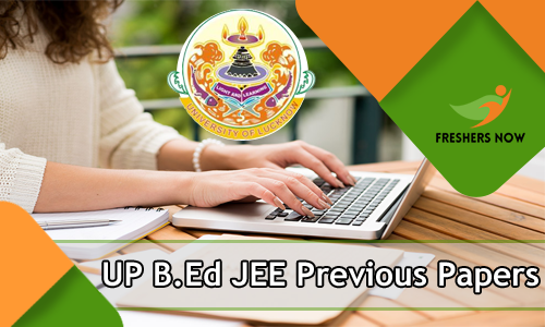 UP B.Ed JEE Previous Papers