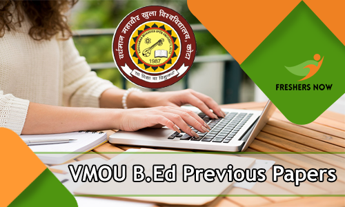 VMOU B.Ed Previous Papers