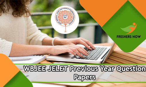 WBJEE JELET Previous Year Question Papers