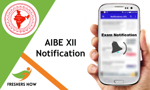 AIBE-XII-Notification