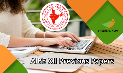 AIBE XII Previous Year Question Papers
