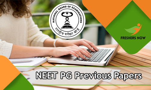 NEET PG Previous Year Question Papers PDF Download - NEET PG Model