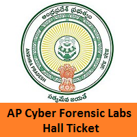 AP Cyber Forensic Labs Hall Ticket