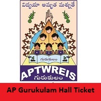 AP Gurukulam Hall Ticket