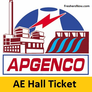 APGENCO AE Hall Ticket