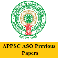 APPSC ASO Previous Papers