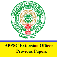 APPSC Extension Officer Previous Papers