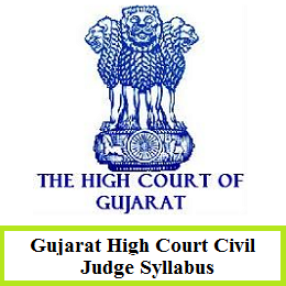 Gujarat High Court Civil Judge Syllabus