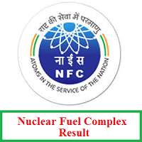 Nuclear Fuel Complex Result
