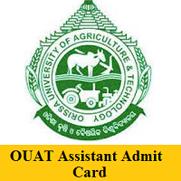 OUAT Assistant Admit Card