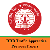 RRB Traffic Apprentice Previous Papers