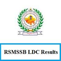 RSMSSB LDC Results