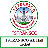 TSTRANSCO AE Hall Ticket