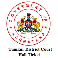 Tumkur District Court Hall Ticket