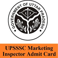 UPSSSC Marketing Inspector Admit Card