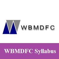 WBMDFC Syllabus